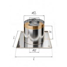 Потолочно-проходной узел ∅280 (430, 0.5, термо)