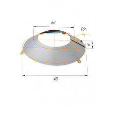 Фланец ∅80-100 (430, 0.5)