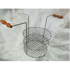 """Решетка трех-ярусная (диаметр 30 см, для тандыров """"Премиум"""" и """"Комфорт"""")"""