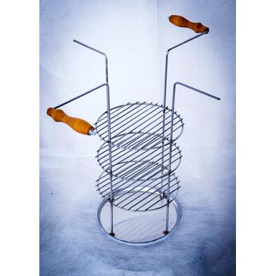 Тарелка-решетка четырех-ярусная